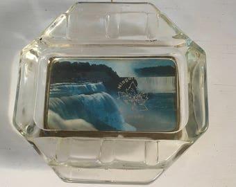 Vintage souvenir Niagara Falls Canada ashtray smoker toker gift