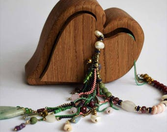Handmade Oak tinket box