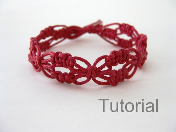 tuto macrame bracelet