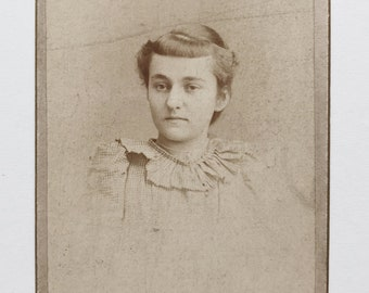 Original Antique CDV Photograph | Collette