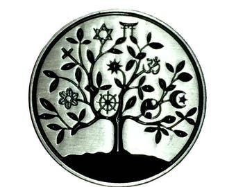 Universal Tree of Life Pin Diversity Lapel Pin