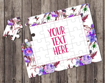 Create Your Own Puzzle - Pregnancy Announcement - Custom Puzzle - Personalized Puzzle - Announcement Ideas - Wedding Announcement - CYOP0089