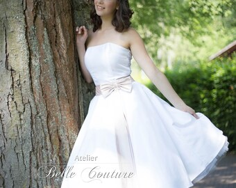 50s Rockabilly wedding gown