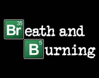 Phish Breath & Burning Breaking Bad Lot Shirt    Men's