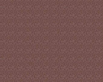Brown hashtag fabric by Riley Blake, brown fabric by the yard, quilting cotton, sewing fabric,