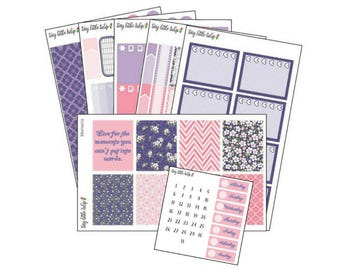 Planner Stickers Moments Weekly Kit