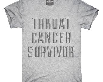 Throat Cancer Survivor T-Shirt, Hoodie, Tank Top, Gifts