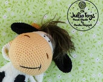 Cow Zuza - crochet toy