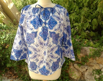 Made to order: women's top in a large choice of fabrics