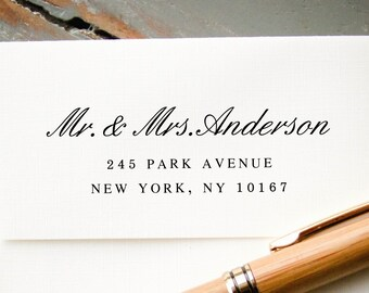 Self-Inking Address Stamp, Custom Return Address Stamp, Custom Stamp, Custom Rubber Stamp, Personalized Stamp: Wedding Invitation Stamp