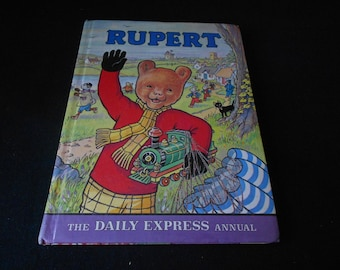 Original 1976 Daily Express RUPERT BEAR ANNUAL