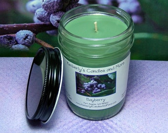 Bayberry PURE SOY Mason Jar Candle