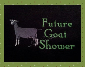Dairy Goat t-shirt - Future Dairy shower shirt - livestock shower t-shirt - Dairy Kid t-shirt - Future show kid shirt