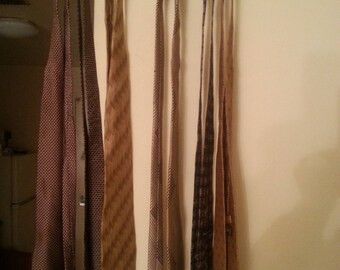 Designer Neck Ties, and Tie Rack