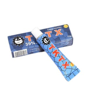 TKTX 39% Stronger BLUE Numbing Tattoo Body Anesthetic Fast Skin Numb Cream UK
