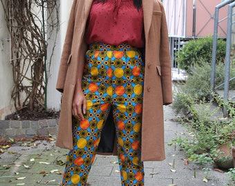 ADAMMA Hose aus Afrikanischer Stoff