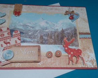 3D 927 hand made greeting card