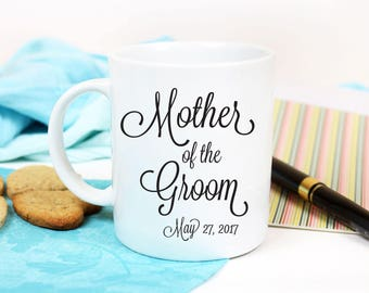Gift For Mother of Groom, Mother of the Groom Gift From Bride, Mother of the Groom Mug, Coffee Mug for Mother of The Groom Gift from Son
