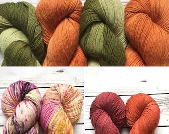 SALE Yarns Sock Yarns Alpaca silk cashmere blends