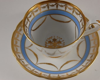 Gladstone Tea Cup and Saucer