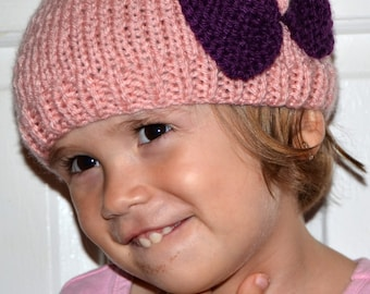 Baby Bow Hat - Choose Size and Color