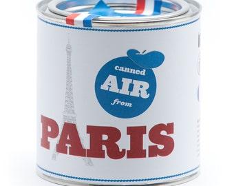 Original Canned Air From Paris, gag souvenir, gift, memorabilia