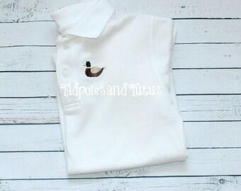 Monogrammed Mini Mallard Polo OR Tshirt