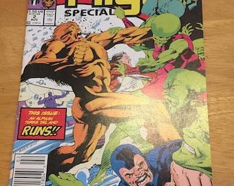 Vintage Marvel Comic Alpha Flight Limited Series #2 (1991) Rare Vintage Comic Book