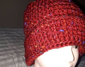 A good looking and handmade Crochet Hat made by Awchdav Crochet Corner. Created one of kind unique and hand made crochet knitted hat.