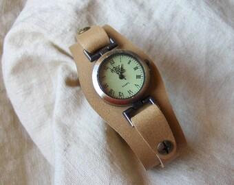 Tan Leather watch strap