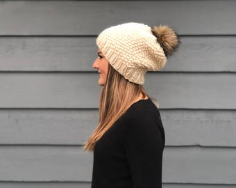 Alki Super Slouchy Beanie / Knit Hat