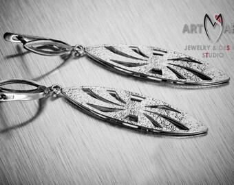 Anna Earrings - Silver earrings - Handmade - Sterling silver - Easter Gift - Unique earrings - Wedding gift - Gift For Her