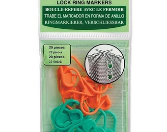 Clover Locking Stitch Marker Part No. 353
