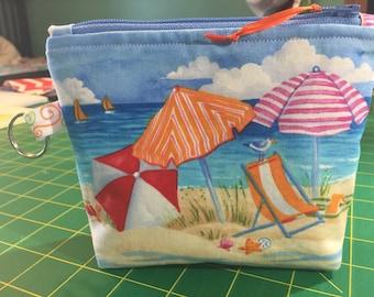 Beach themed wallet