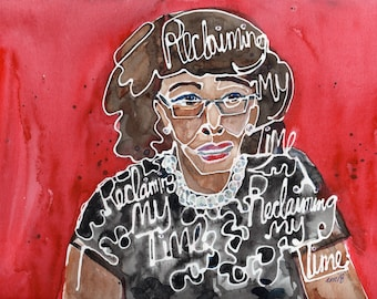 Congresswoman Maxine Waters (Original Painting)