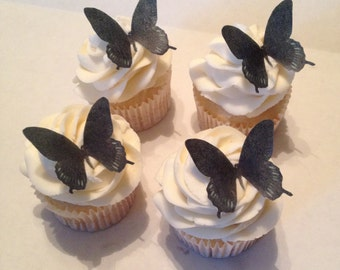 Black Edible Butterflies