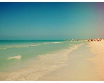 Beach Photograph - Fine Art Print - Nature Photography - Florida Photograph -  Siesta 6 - Landscape Print - Coastal Art - Nautical Decor