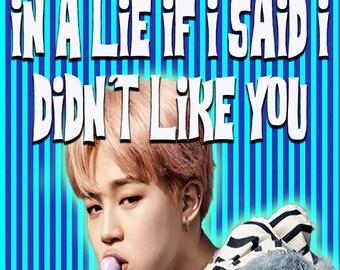 Jimin Valentine BTS Kpop Seoul Exo BIGBANG Wanna One