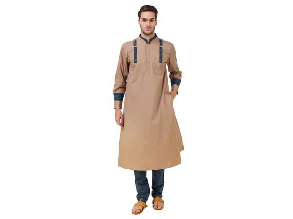 Elegant Muslim Imamah Kurta For Any Occasion KP-006 LV5KL