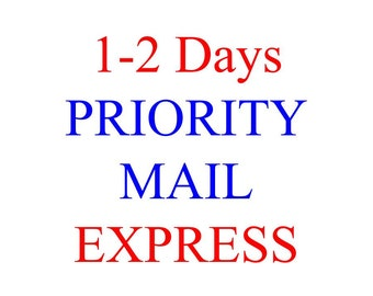 Priority Mail Express 1-2 Days Upgrade