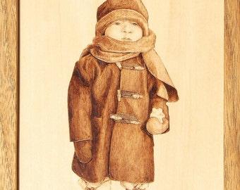 Bundled for Winter Woodburning Art