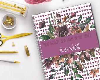 True Beauty Bullet Journal, Dot Grid Notebook