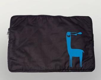 "Laptop bag 13 """" Lamer ""organic cotton Fairtrade"