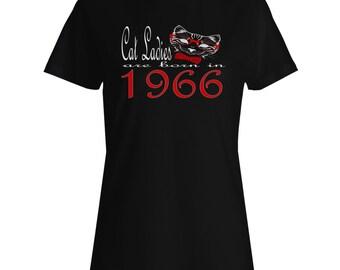 Cat Ladies Are Born In 1966 Ladies T-shirt b803f