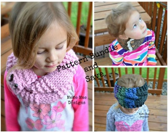 3-Pack Digital Pattern Bundle