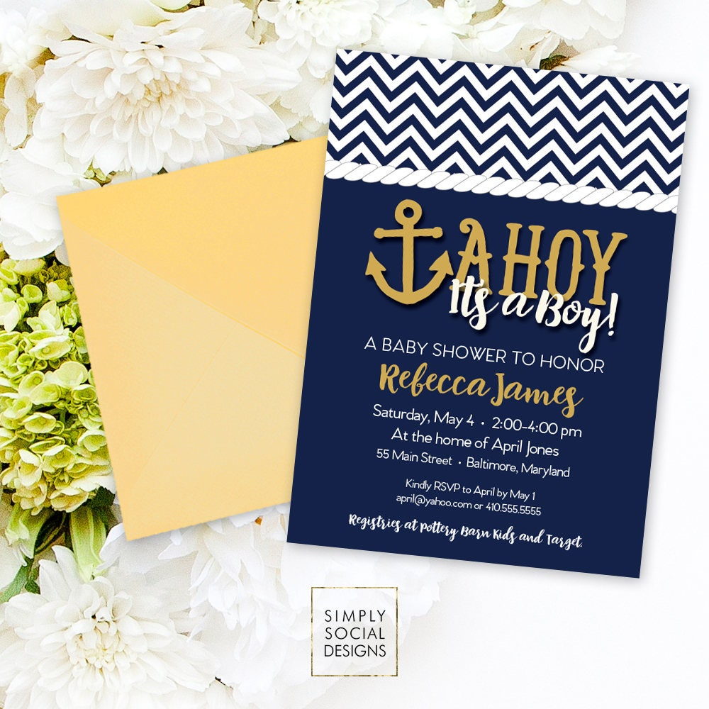 invitation ba regard shower boy nautical stylish invitations to with most baby the invite