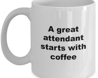 Attendant Coffee Mug