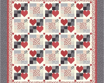 Heart to Heart 1 PDF Quilt Pattern
