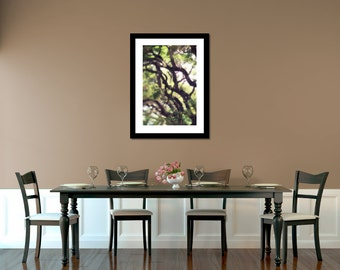 Dreamy Tropical Branches Photo Wall Decor