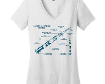Aerospace Engineering Gifts for Engineers Space Travel Shirt Outer Space Shirt Space Tshirt Space Shirt Saturn Apollo Shirt Space Blue Print
